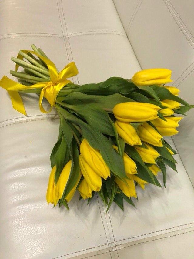 Букет тюльпанов в Нижневартовске