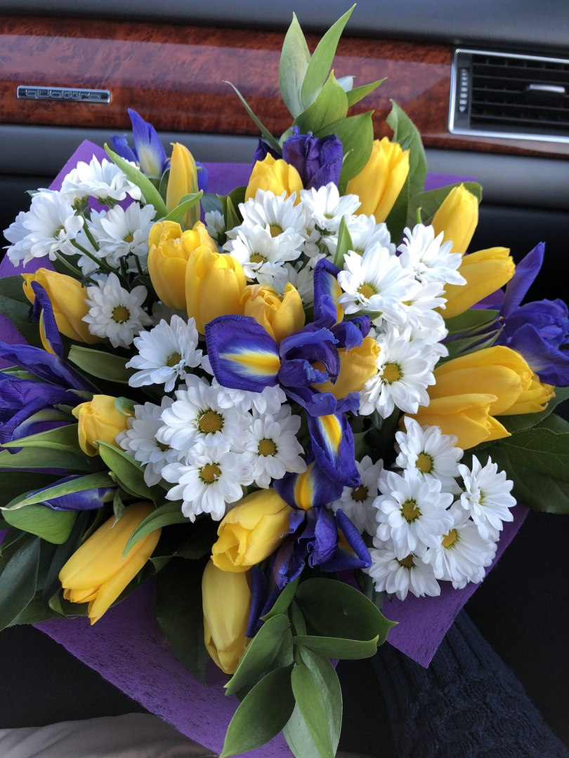 Букет цветов в Нижневартовске