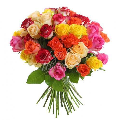 Букет из роз Кения МИКС