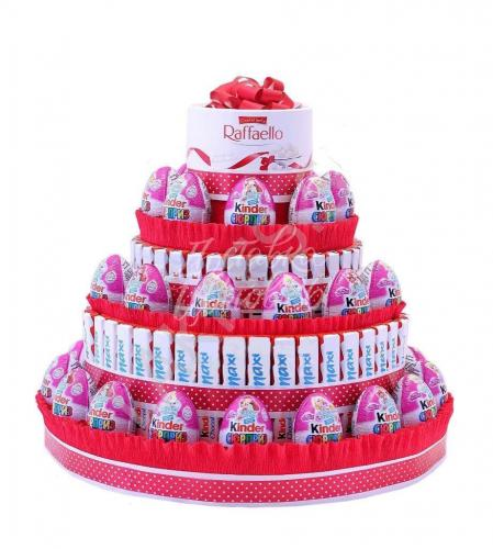 Торт из конфет 1