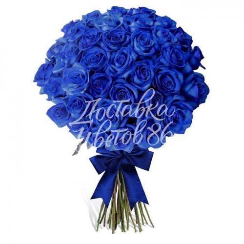 Синяя роза. Эквадор 60см
