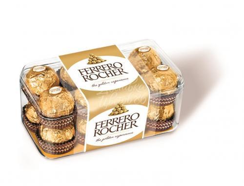 Конфеты Ferrero Rocher хрустящие с лесным орехом, 200 г