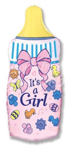 """Фигура """"Бутылочка для девочки"""""""