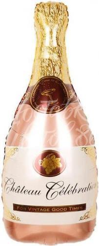 """Фигура """"Бутылка шампанского"""", розовое золото"""