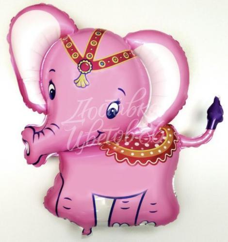 """Фигура """"Слоненок"""" (розовый)"""